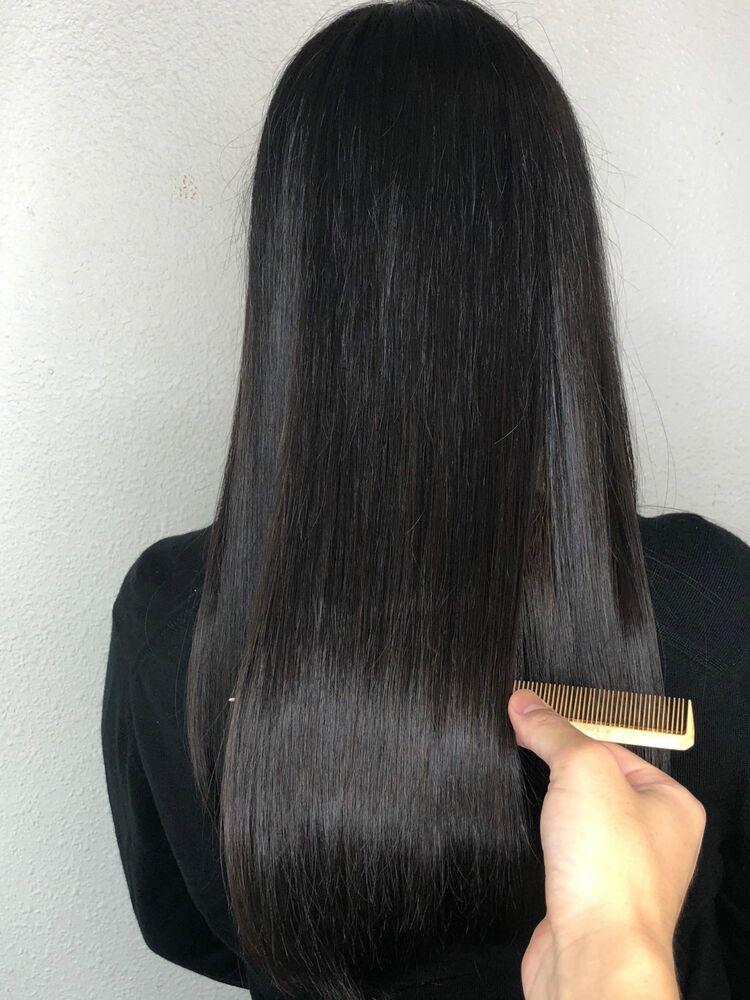 髪質改善トリートメント☆極上のツヤ髪ブルーブラック