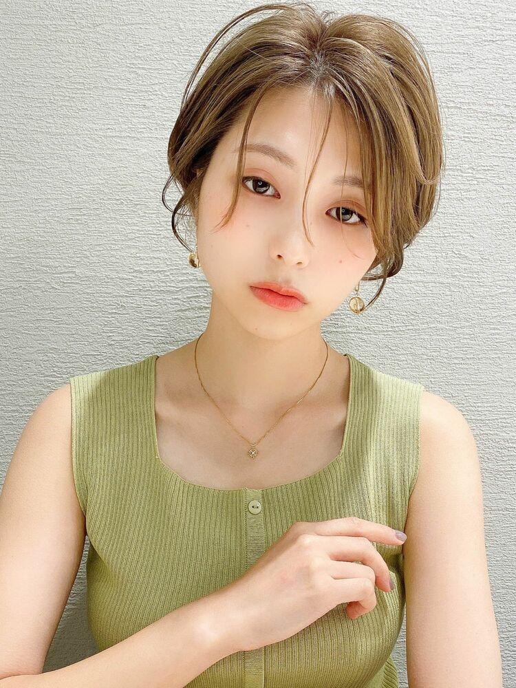 アフロート 谷 20代 30代 韓国ヘア 前髪 顔周り 小顔 似合わせ