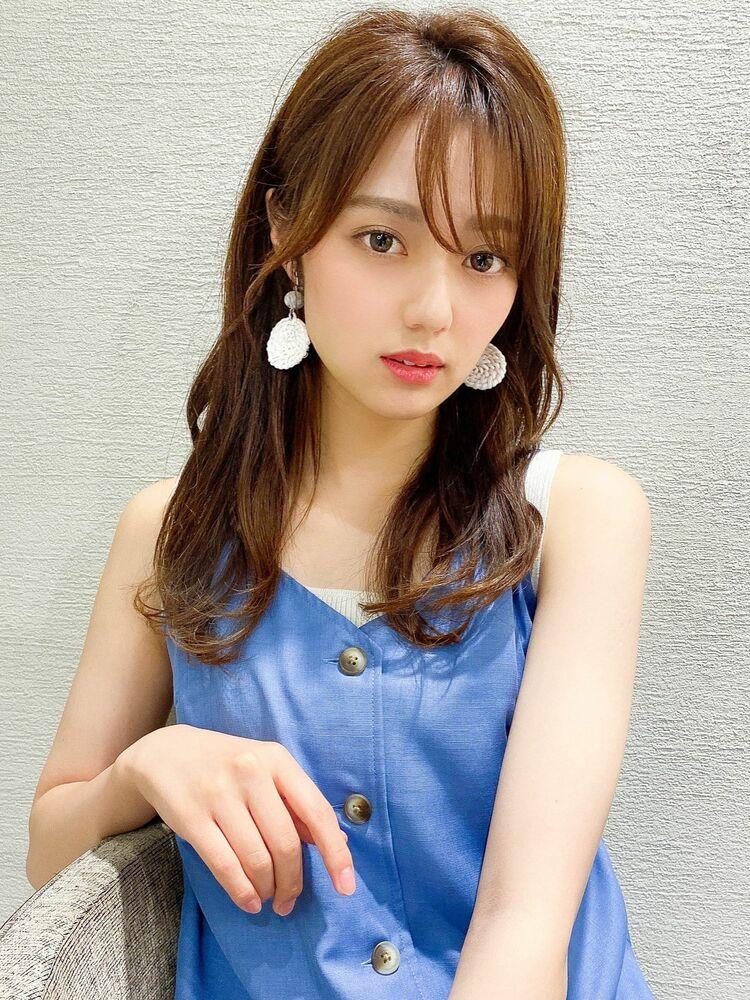 アフロート谷 20代 30代 色気カールで綺麗な艶髪カラー