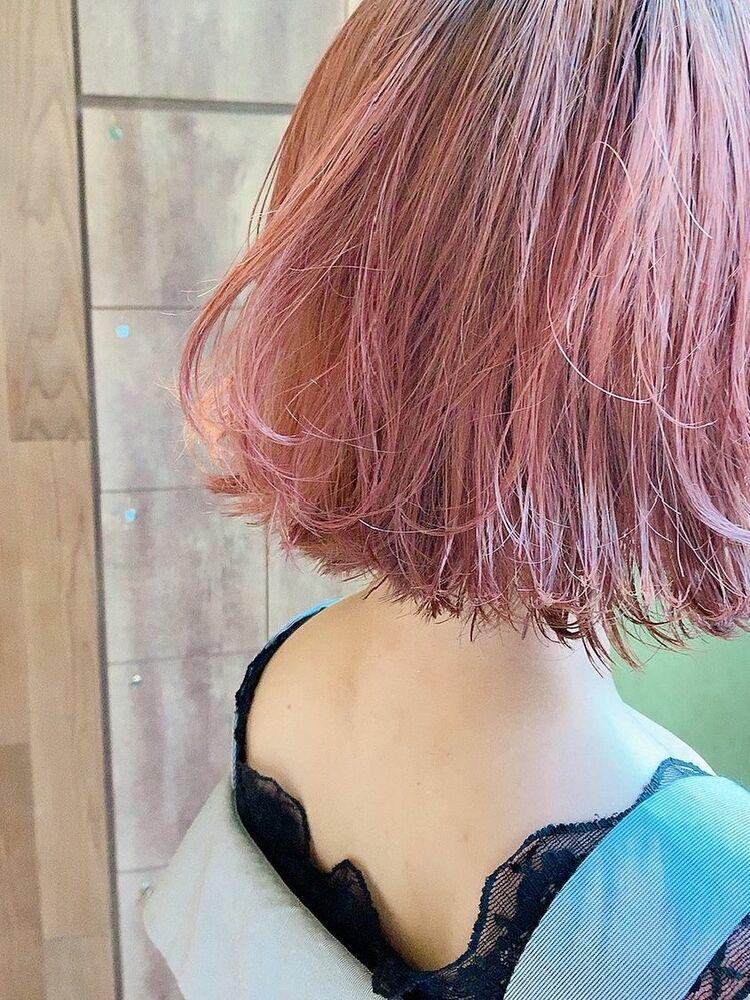 ダブルカラー☆ピンク