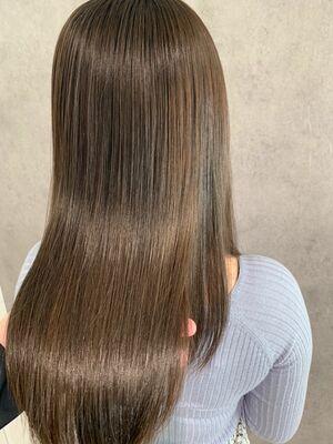 極潤艶々髪質改善トリートメント