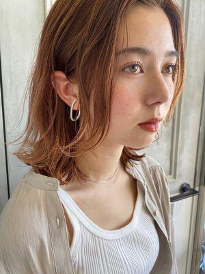 毛束感 ☆ ミディアムレイヤースタイル