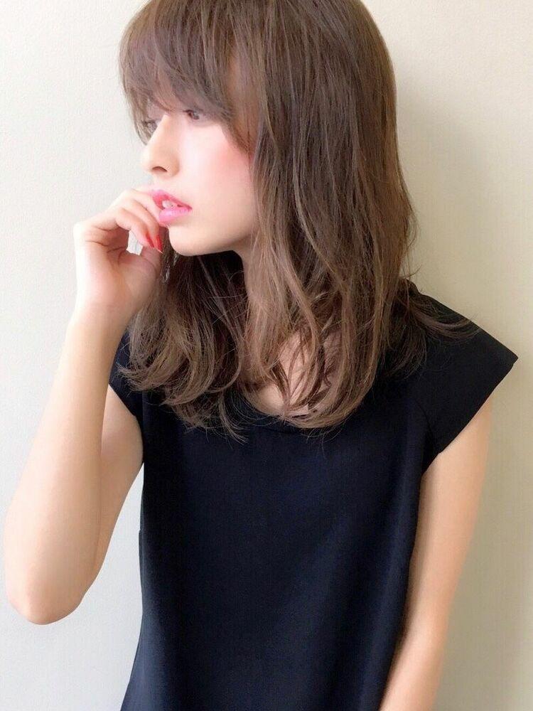 女っぽヘア高支持率◎ 秋山那代 オンナ度上げる柔らかhair 前髪とサイドバングで似合わせ