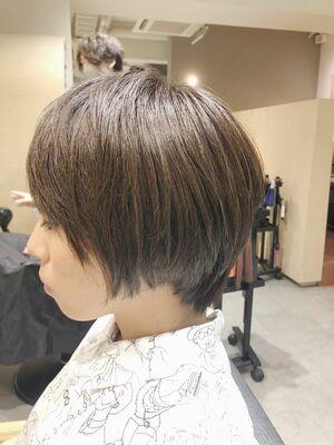 丸みスッキリコンパクトショートヘア