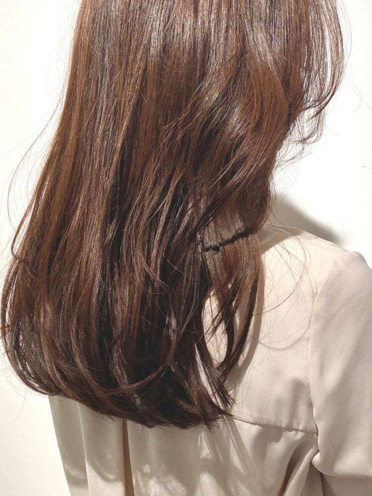髪質改善トリートメント × 韓国レイヤーカット