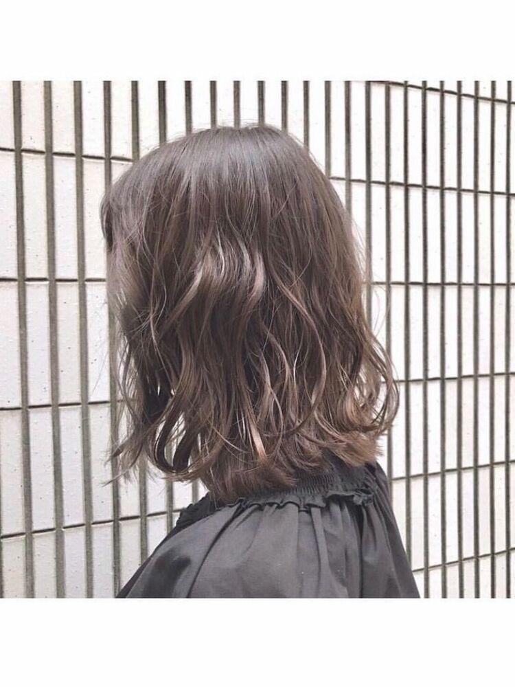 『 turn TOKYO 』重めボブもレイヤーカットをプラスして浮遊感を自在にふわふわな髪に!