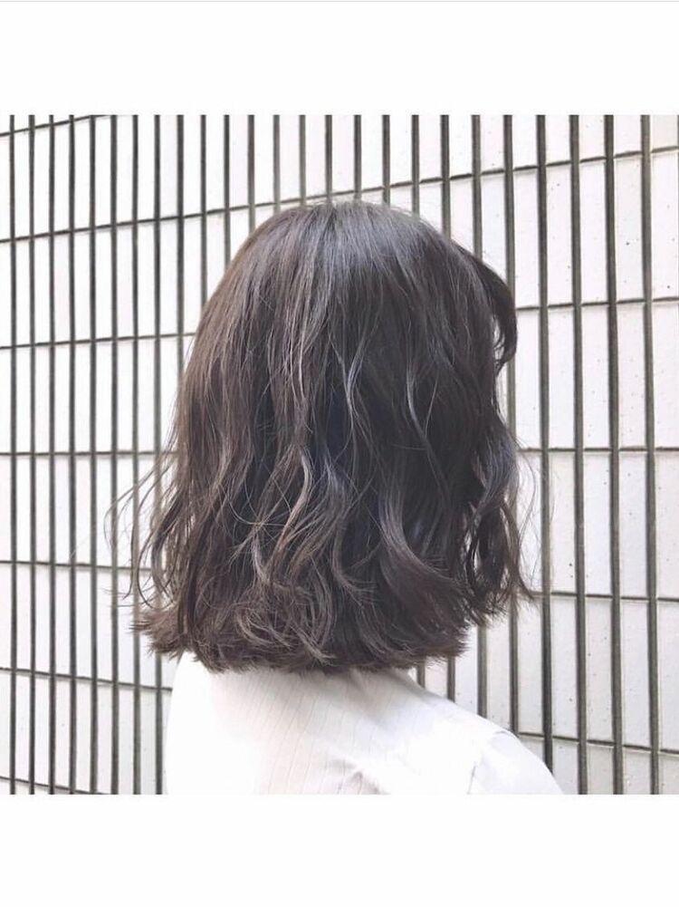 『 turn TOKYO 』レイヤーカットをプラスしたボブロング