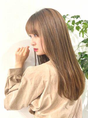 表参道『turn TOKYO』上品な雰囲気が手に入る。動きを味方にするレイヤーカット。ロングヘア