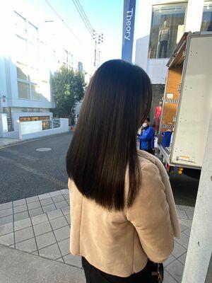 グレージュ髪質改善
