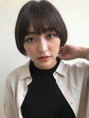 dyplus佐藤光/ショートの匠/大人可愛いショートボブ/透明感カラー
