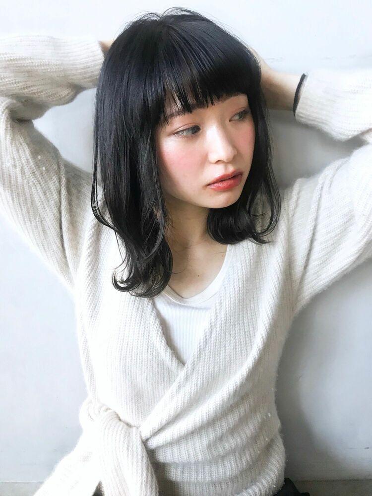 unami kichijoji 暗髪×やわらかワンカールパーマ 澤田 杏奈