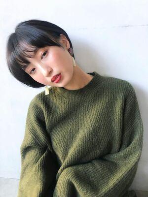 unami kichijoji 暗髪×ナチュラルショート 澤田 杏奈