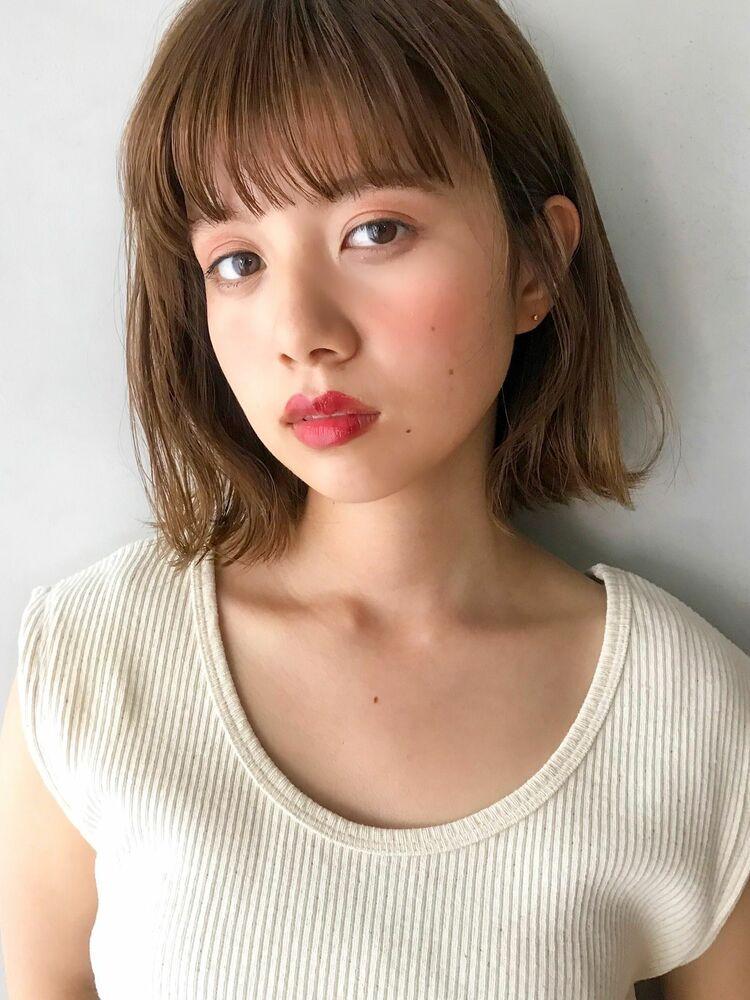 unami kichijoji 外ハネ×切りっぱなしボブ  澤田 杏奈