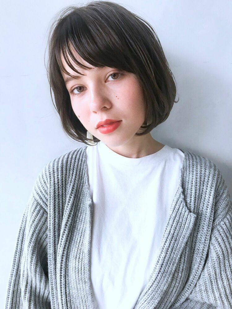 unami kichijoji 切りっぱなし×ワンカールボブ 澤田杏奈