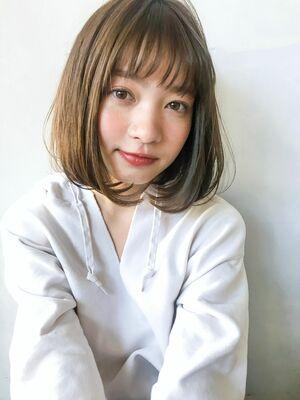 unami kichijoji シースルバング×ワンカールボブ 澤田 杏奈