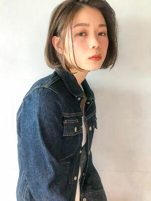 アンアミ 吉祥寺 大人ヘルシーボブ×やわらかカラー 澤田 杏奈
