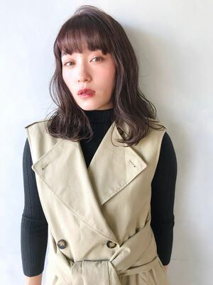 unami kichijoji 抜け感×おしゃれ大人ミディアム 澤田杏奈