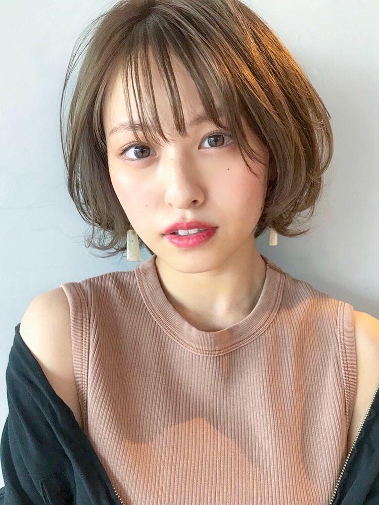 unami kichijoji パーマボブ×シースルバング 澤田 杏奈