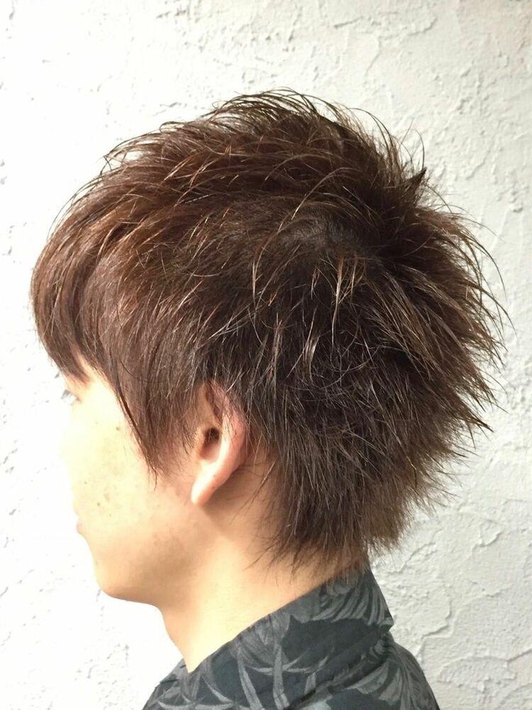 マッシュウルフ<ヒロ銀座/理容室/浜松町/メンズ>
