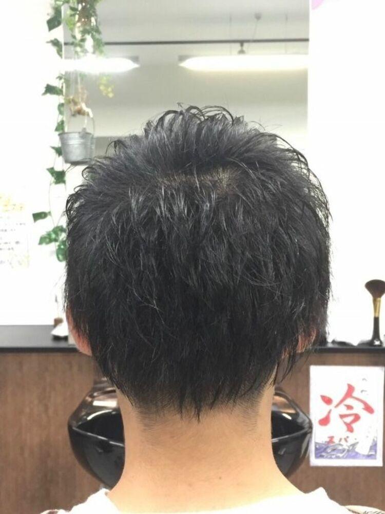 サイドグラデーションショート<ヒロ銀座/メンズ/理容室/浜松町>