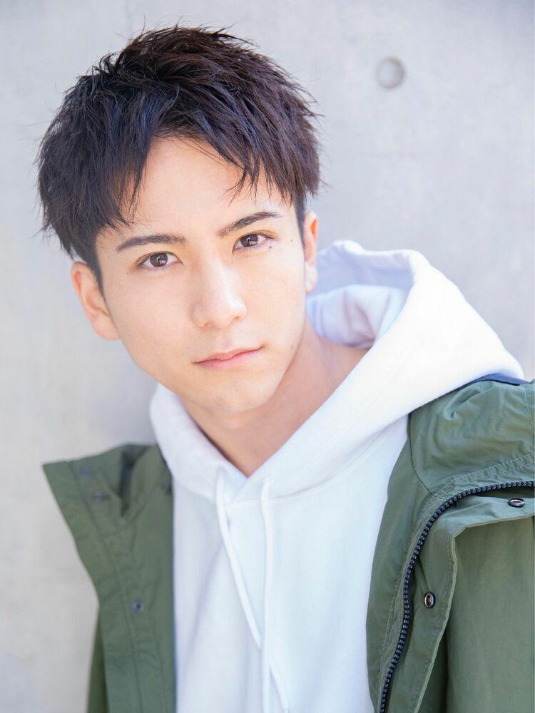 小久保style☆黒髪かき上げグラデーションショートスタイル