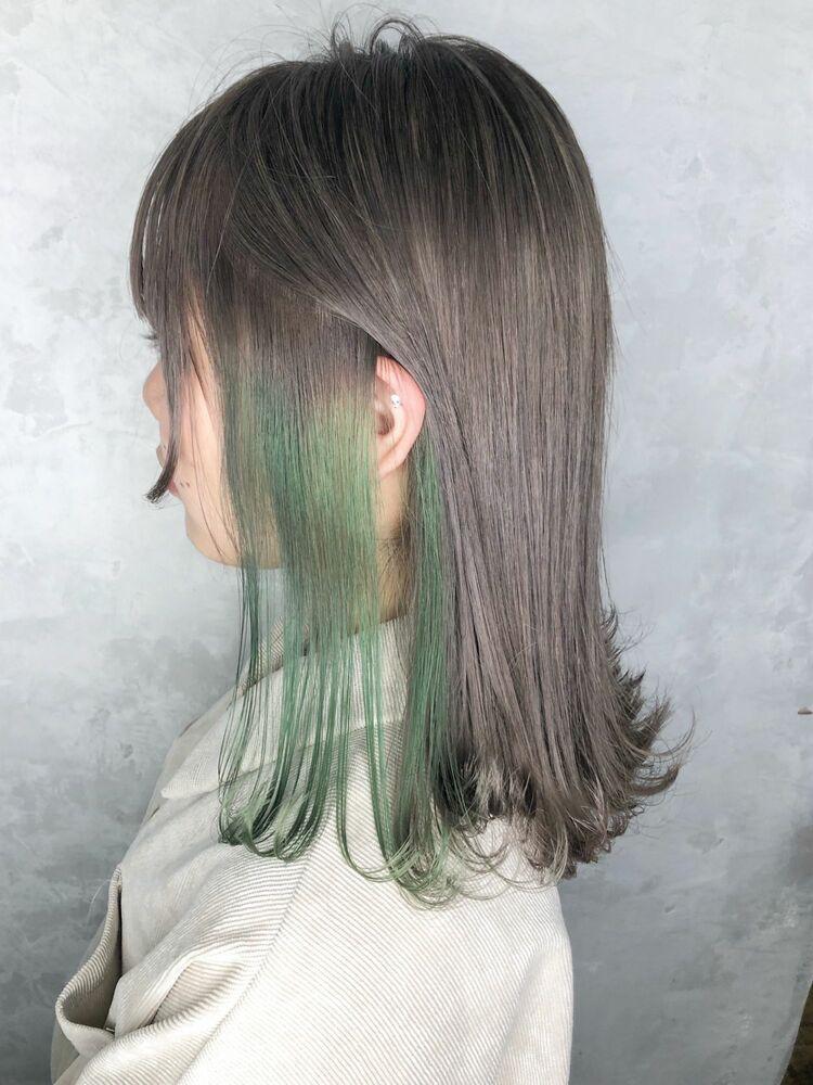 インナーグリーンホワイト