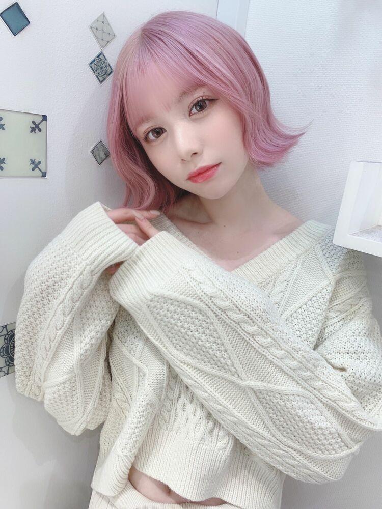 ホワイトピンク☆