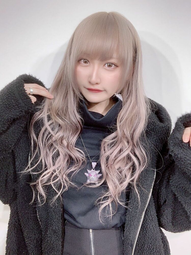 最高級シールエクステ×ホワイトカラーローライト☆