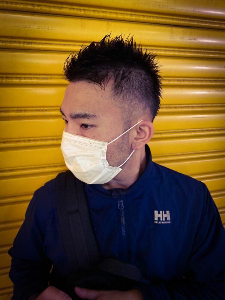 マスクをしてても似合うベリーショート!