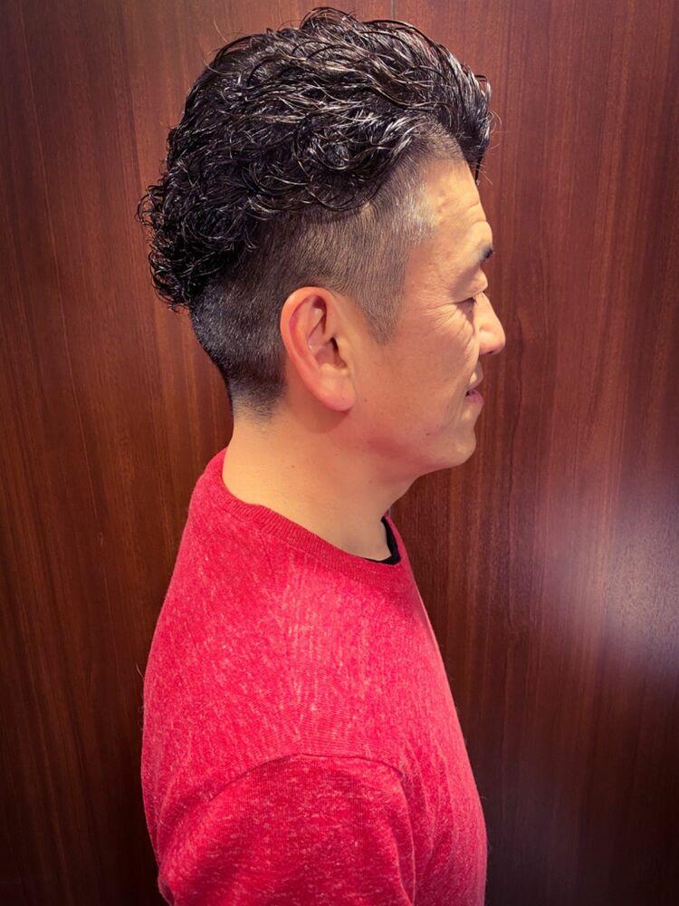 髪質改善パーマでスタイリッシュに!