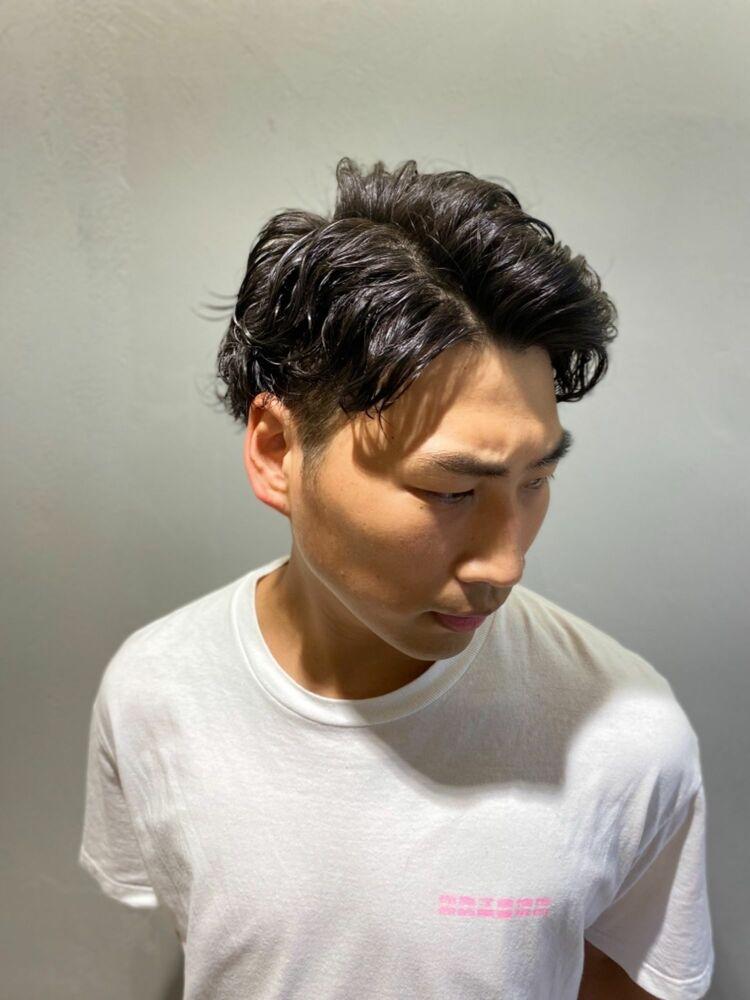 直毛に髪質改善パーマ!