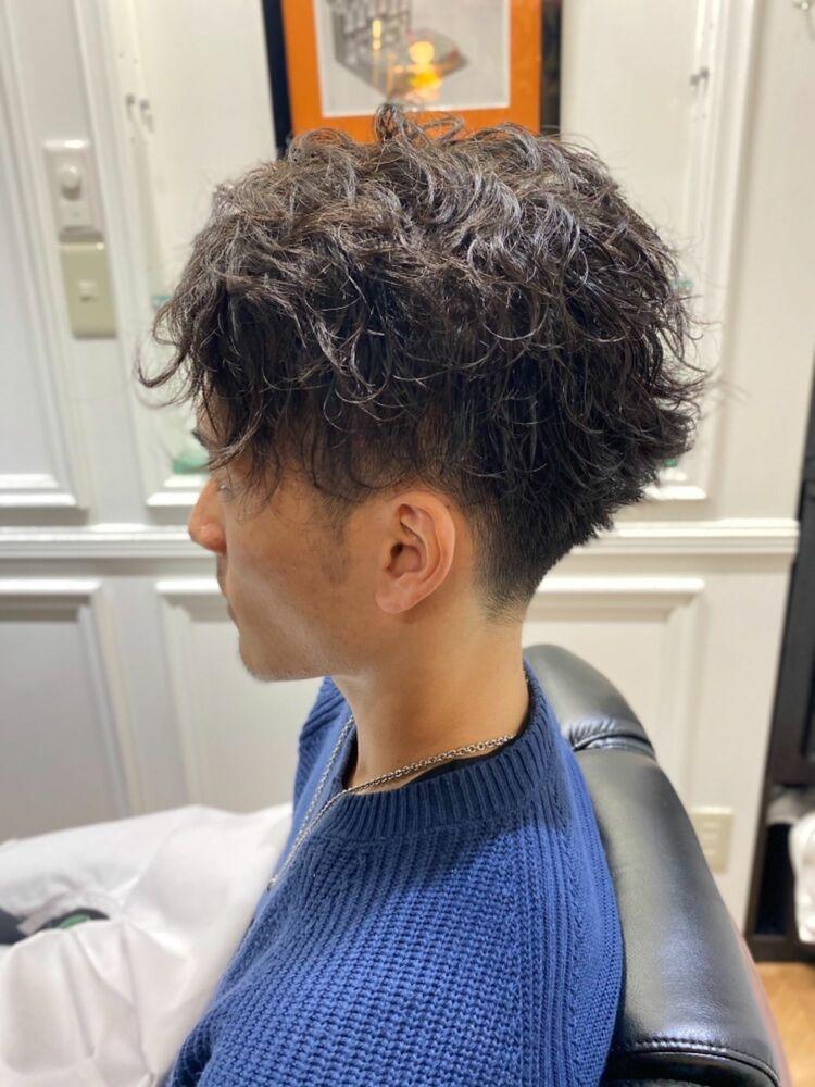 THE FADE ツイストスパイラルパーマショートヘア