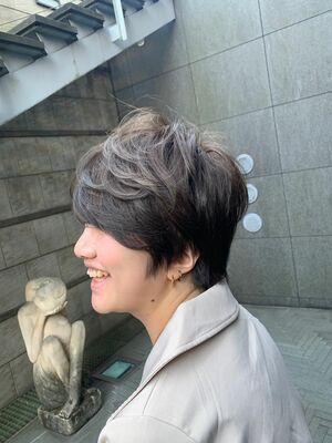女性らしさの残る愛されショートヘア!