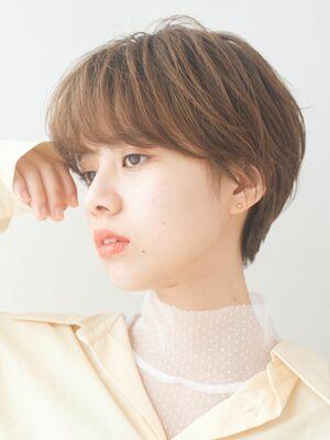 LIPPS銀座安田愛佳_絶壁解消マッシュショート