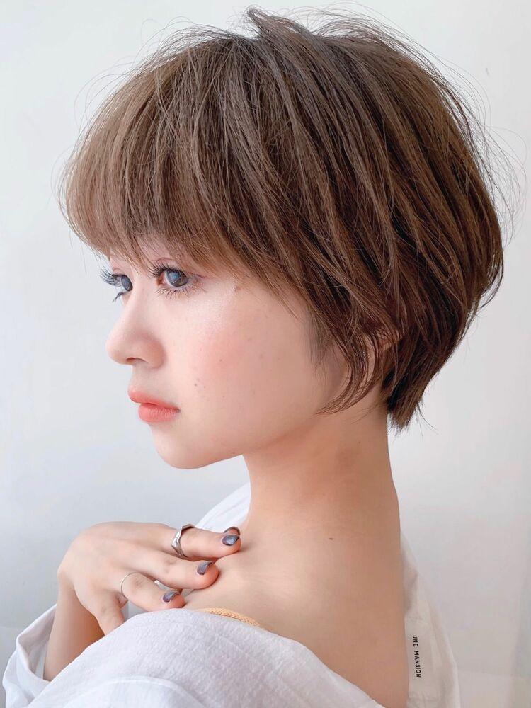 LIPPS銀座安田愛佳_丸みとくびれのショートヘア