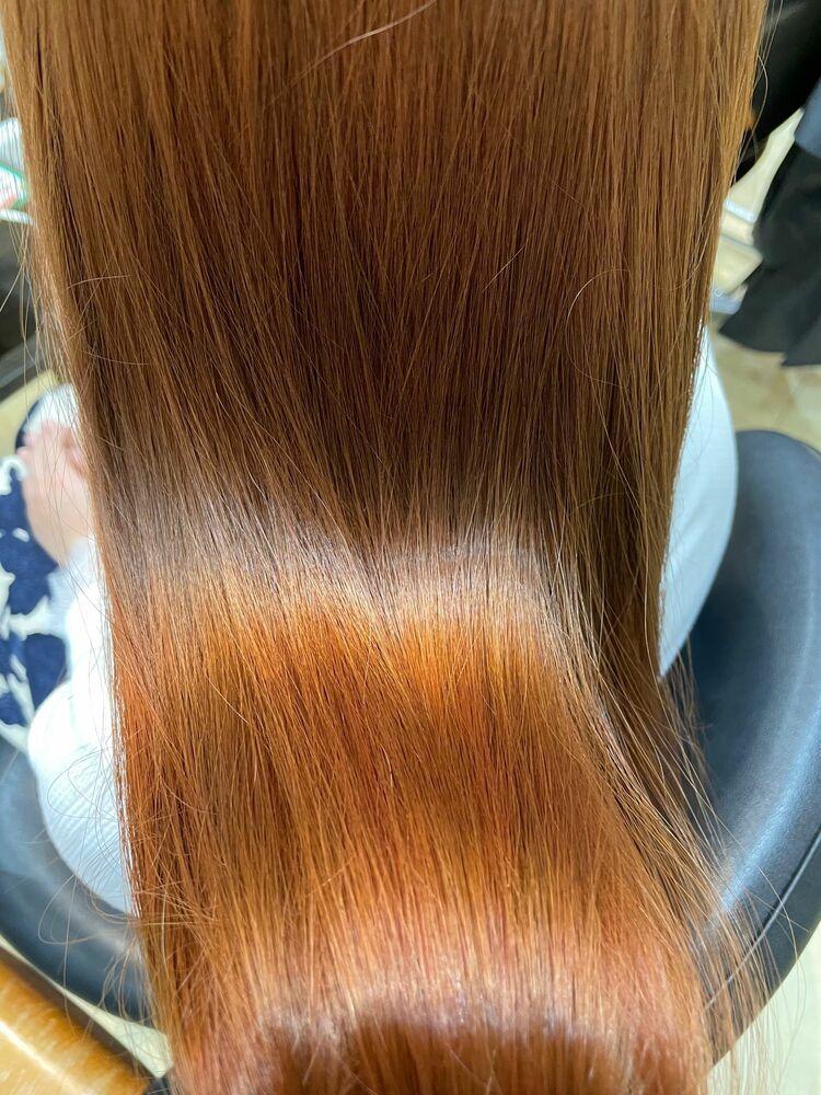 オージュアトリートメントで作る美髪ヘア