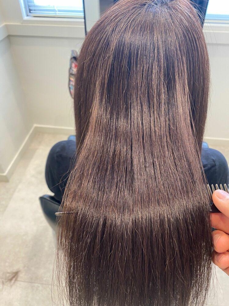 髪質改善×縮毛矯正✨
