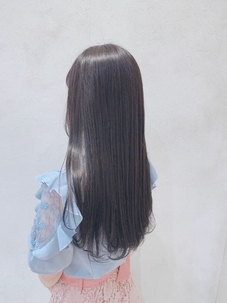サラツヤ美髪!サラサラロングスタイル