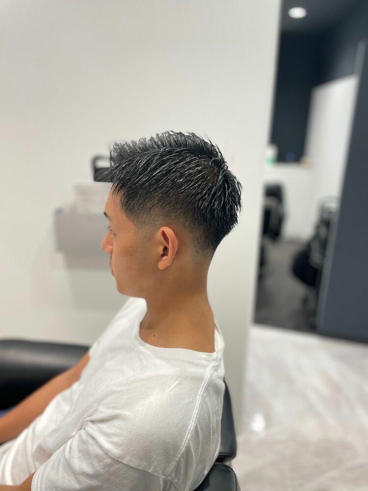 barberスタイル スキンフェード