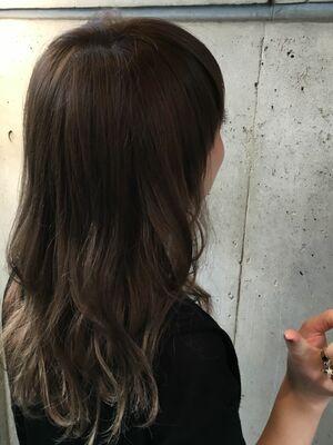 MINX銀座二丁目店 徳永利彦『外国人風カラー ハイライト グレージュ』