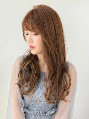 前髪カットが上手い美容師 MINX 銀座目店 店長 徳永利彦『大人可愛い ロングスタイル』