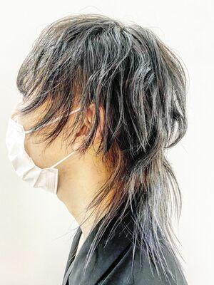 音楽を感じる髪型