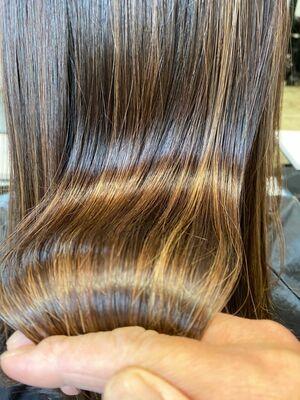 髪質改善 サブリミック 酸熱トリートメント
