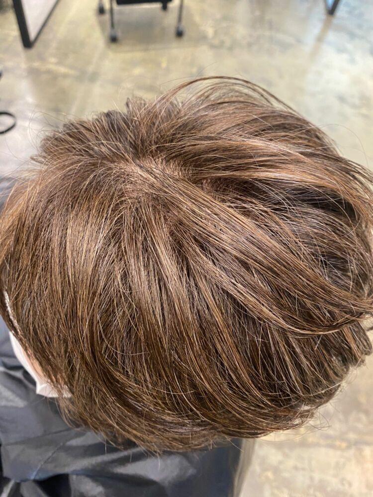 白髪ぼがし✨