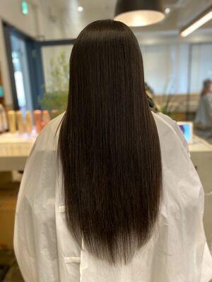 縮毛矯正 髪質改善 サブリミック