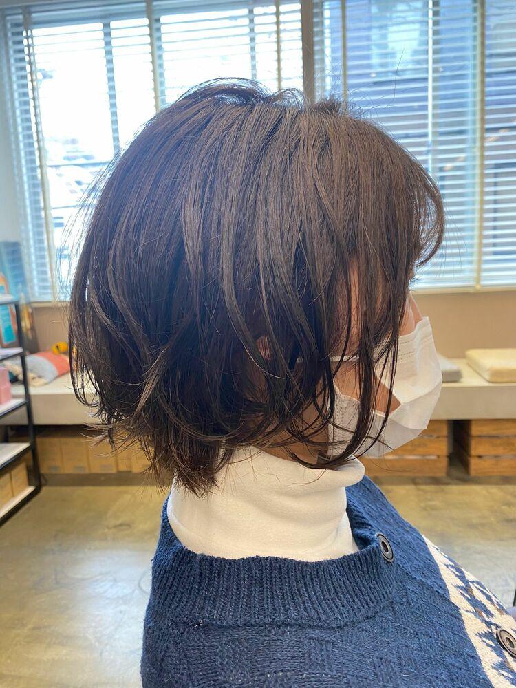 巻き髪ボブ💇🏻♀️
