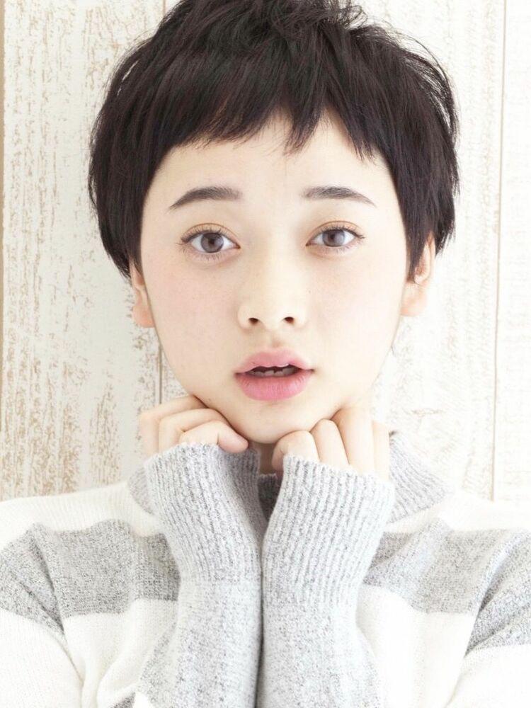 マニッシュショート×アッシュ系黒髪 渋谷智宏