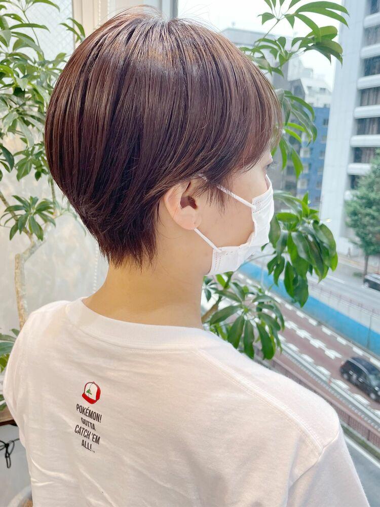 【GoofyTokyo銀座】ミニマムショート/コンパクトショート/韓国風ショート/バッサリ