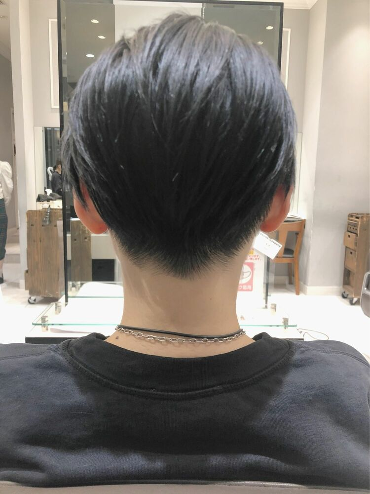 【GoofyTokyo銀座/渋谷トモヒロ】ツーブロック女子オールバックスタイル
