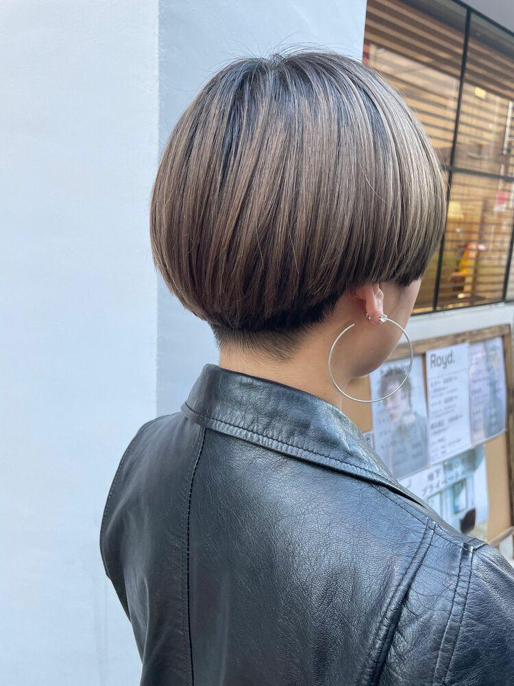 【GoofyTokyn銀座】刈り上げ女子マッシュショート/渋谷トモヒロ/カットが上手い